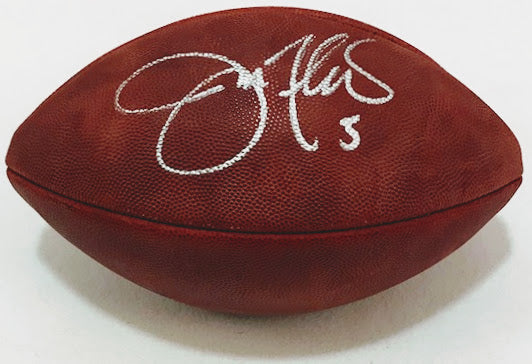 Joe Flacco Signed NFL Football