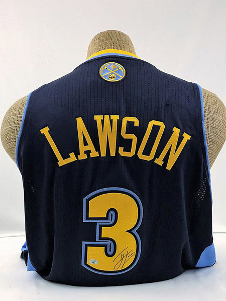 Ty Lawson Signed Alternate Denver Nuggets Jersey (Blowout)
