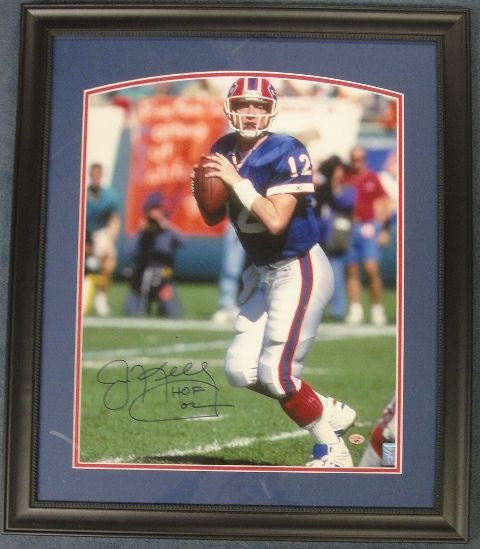Jim Kelly Signed and Framed 16x20 Photo