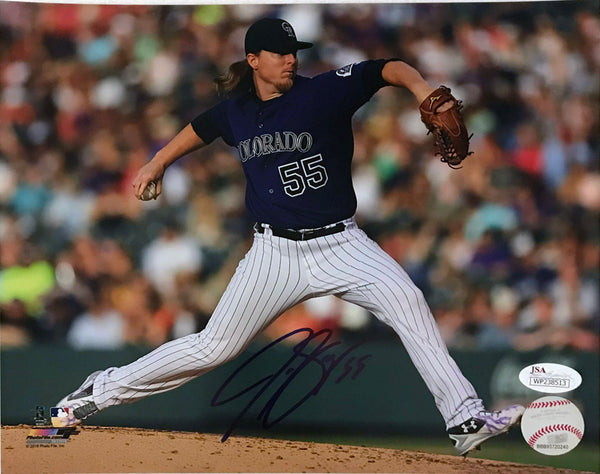 Jon Gray Signed 8x10 Photo - Purple Jersey