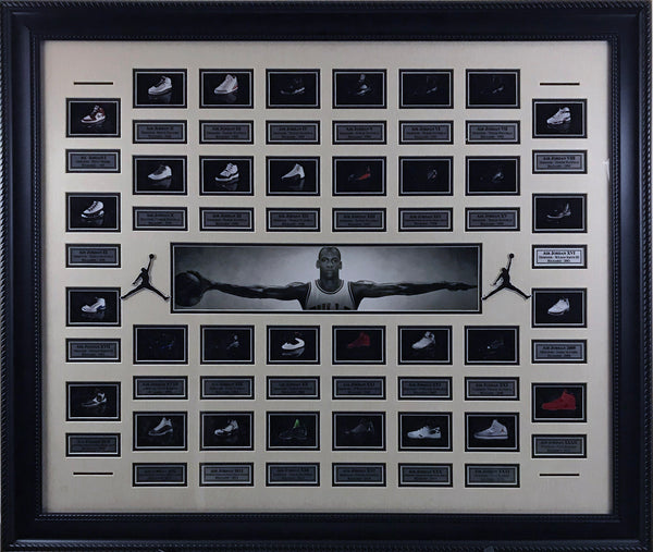 Air Jordan Shoes Collage