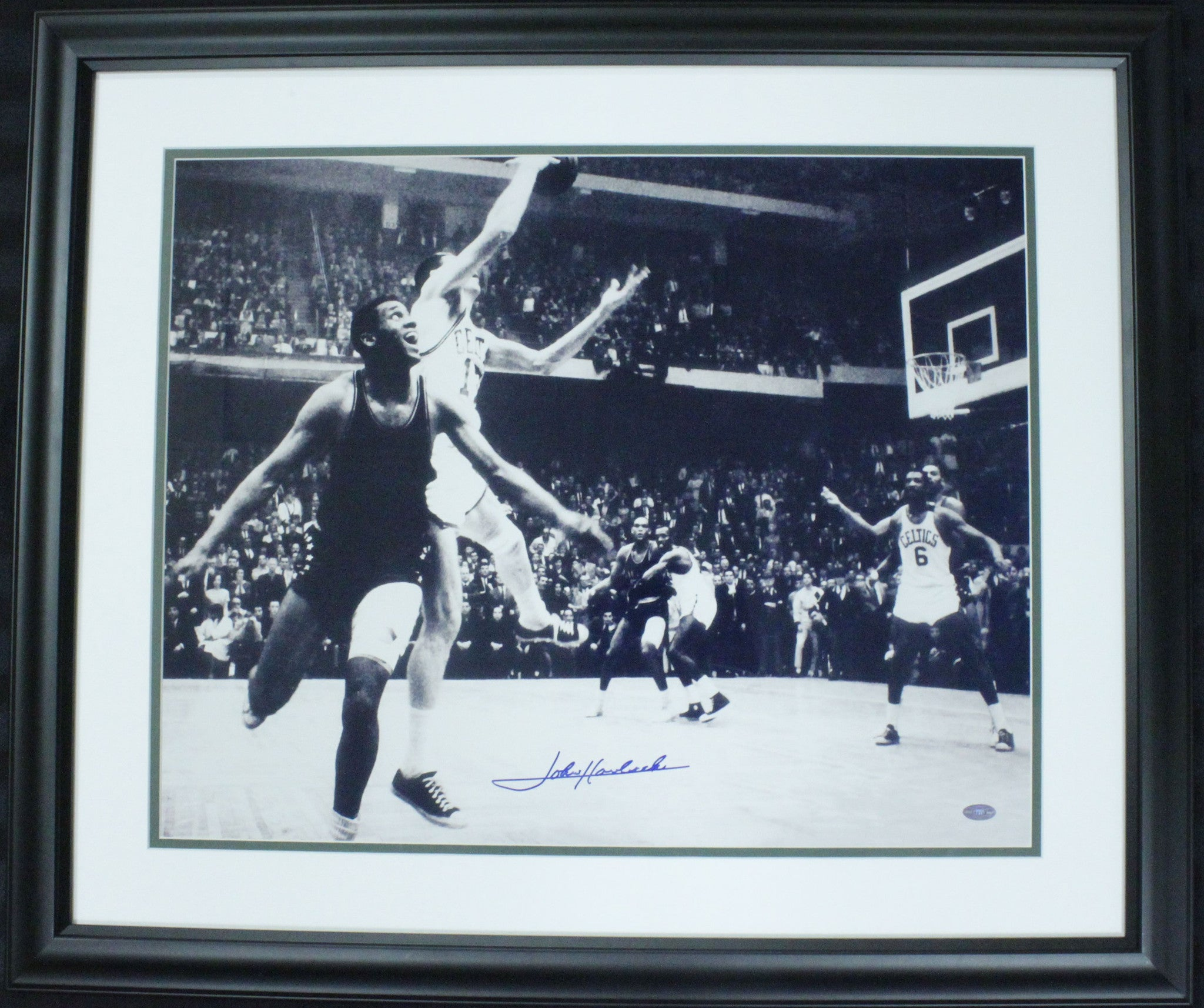 John Havlichek Signed 16x20 Photo Framed