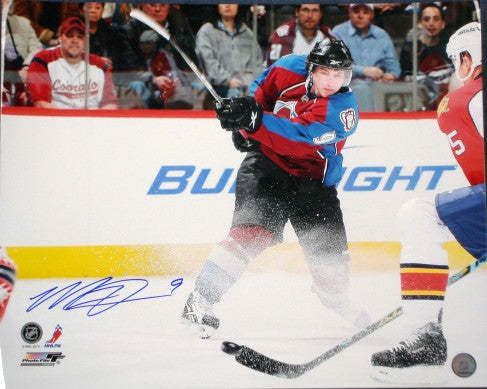 Matt Duchene 16x20 signed photo Burgundy