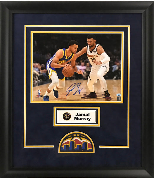 Jamal Murray Signed 11x14 Photo - Deluxe Frame