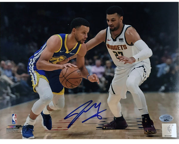 Jamal Murray Signed 8x10 Photo - Defending Curry