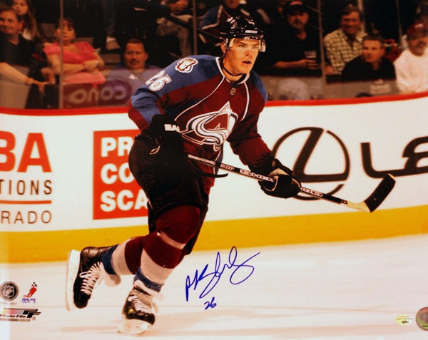 Paul Stastny Hand Signed 16X20 Photo - Latitude Sports Marketing