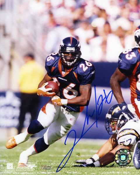 Clinton Portis Hand Signed 8X10 Photo