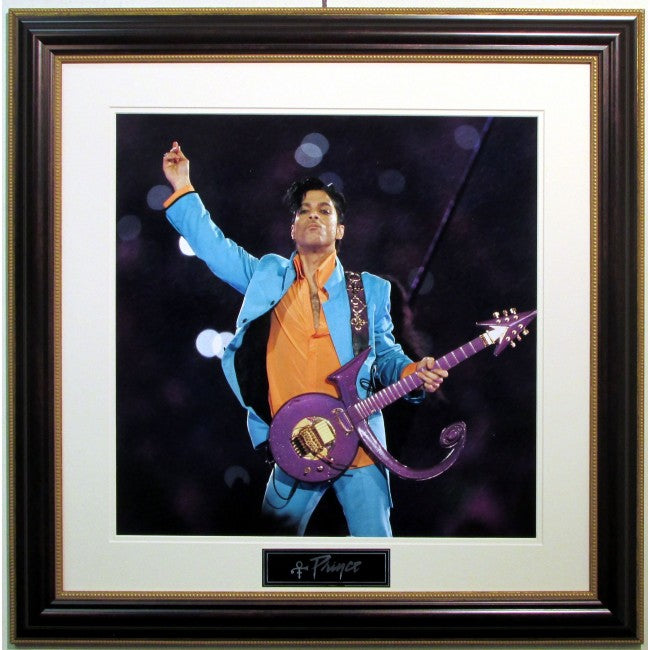 Prince 16x20 Framed Photo (Blue Jacket)