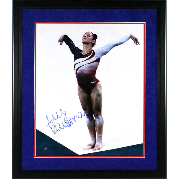 Aly Raisman Autographed and Framed 16x20 Photo - Latitude Sports Marketing