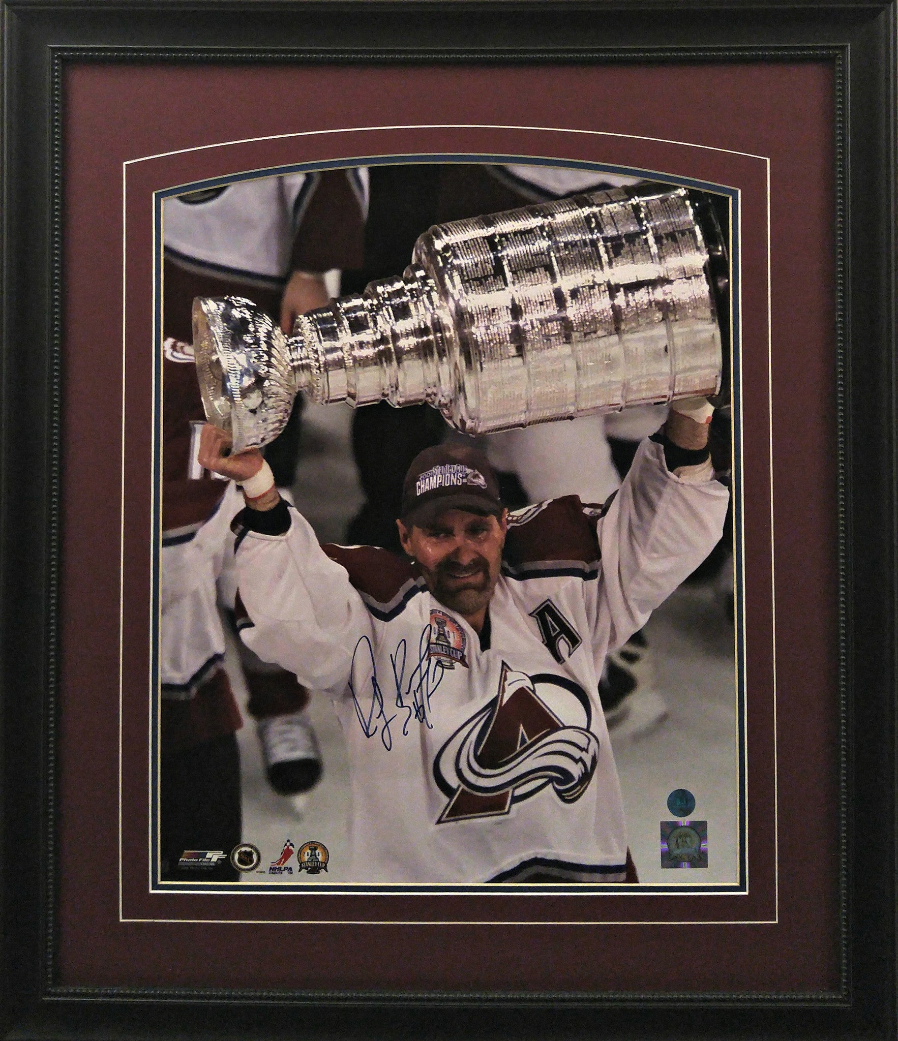 Ray Bourque Signed Framed 16x20 Photo - Latitude Sports Marketing