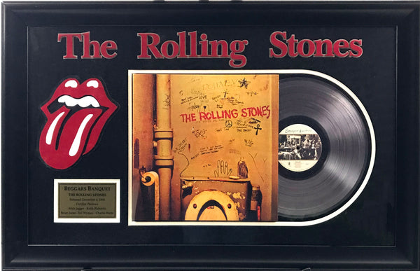 Rolling Stones Beggars Banquet Album Collage