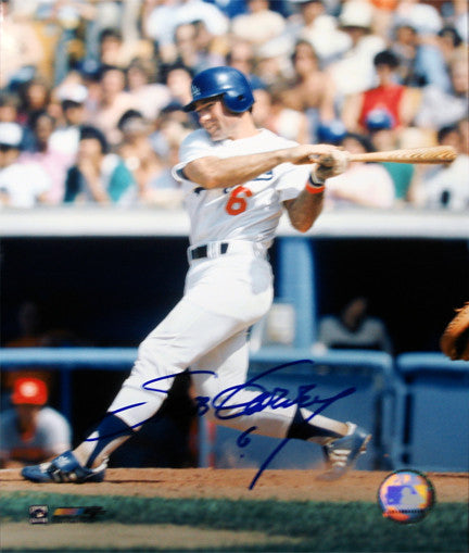 Steve Garvey Signed 8x10 Photo (Blowout) - Latitude Sports Marketing