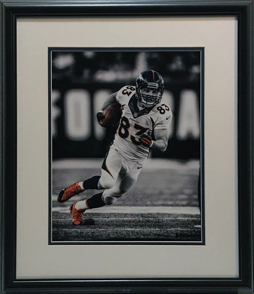 Wes Welker 11x14 Photo Framed by Hauser - Latitude Sports Marketing
