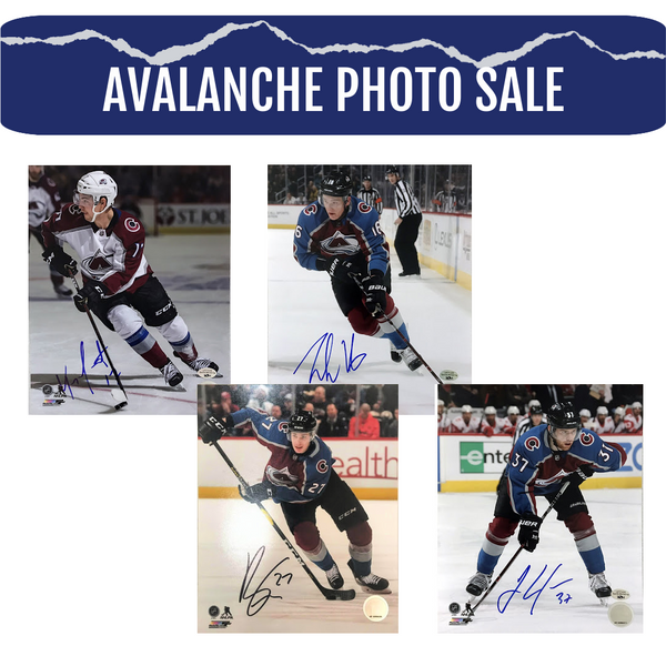 Colorado Avalanche 8x10 Photos - Latitude Sports Marketing