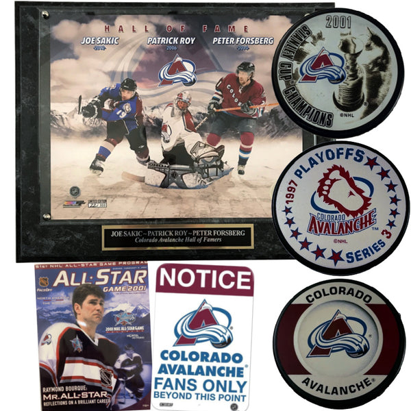 BIG Colorado Avalanche Fan Package