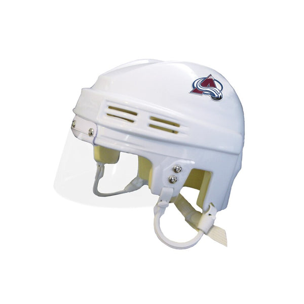 Colorado Avalanche Unsigned Mini Helmet (White)