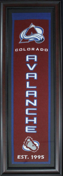 Colorado Avalanche Framed Banner (As is)