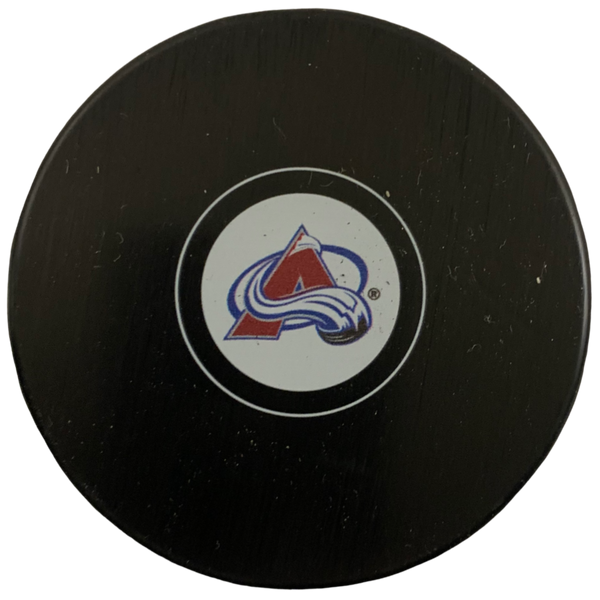 Colorado Avalanche Hockey Puck - Latitude Sports Marketing