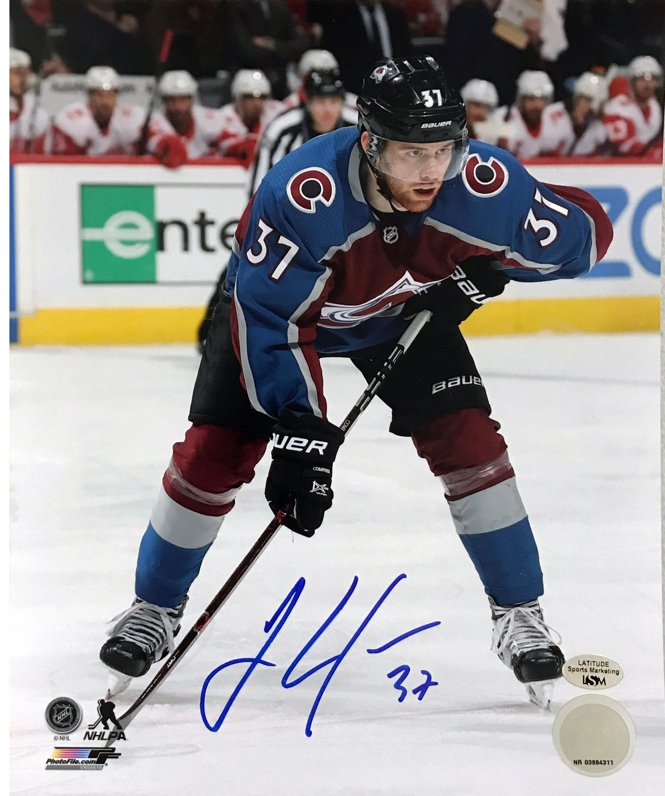 J.T. Compher Signed 8x10 Photo - Latitude Sports Marketing