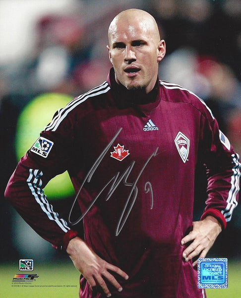 Conor Casey autographed Colorado Rapids 8X10 photo with COA and hologram. - Latitude Sports Marketing