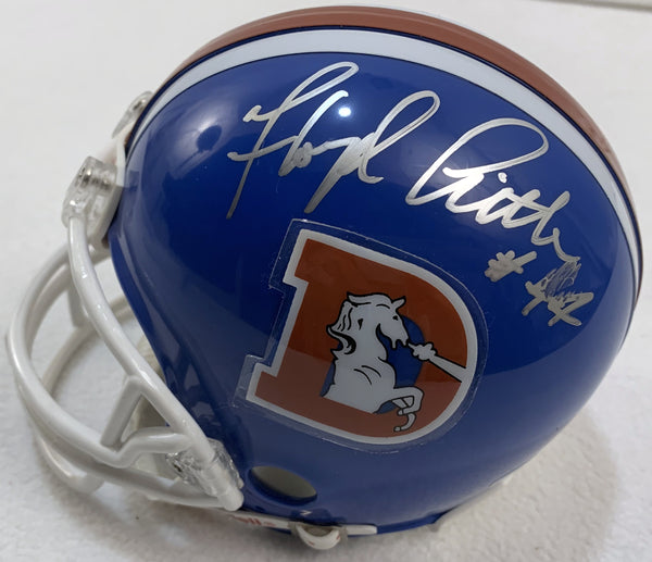 Floyd Little Signed Mini Helmet - Latitude Sports Marketing