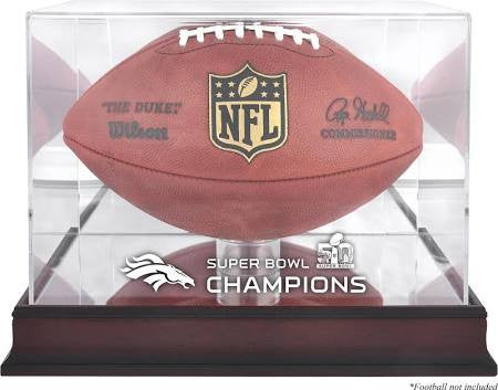 Broncos SB50 Mahogany Football Case
