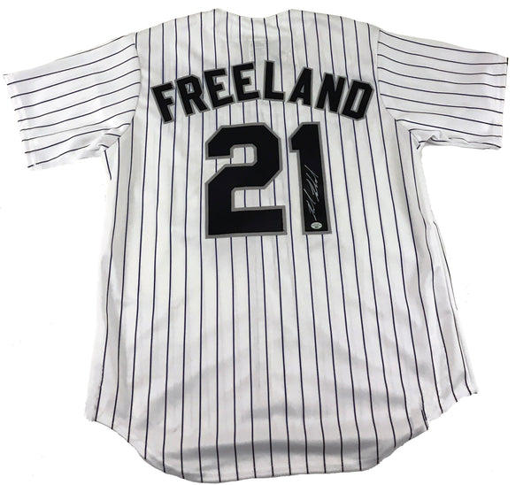 Kyle Freeland Signed Colorado Rockies Jersey