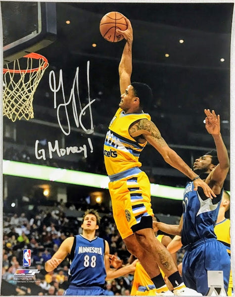 "Gary Harris Autographed 11x14 Photo Inscribed ""G Money!"" (Smudged)"