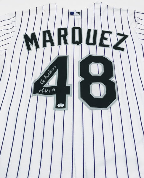 German Marquez Signed Jersey/White