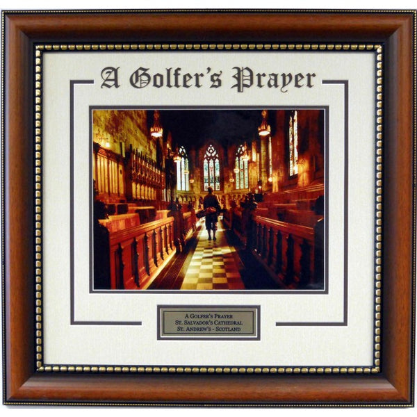"""Golfer's Prayer"" Lithograph - Latitude Sports Marketing"
