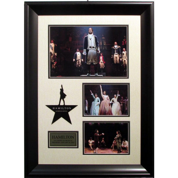 Hamilton Play Collage Framed
