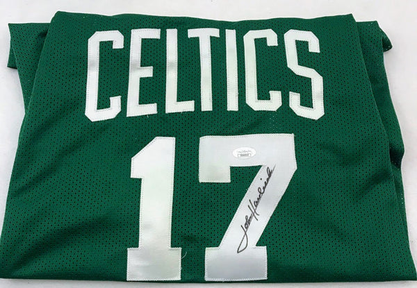 John Havlicek Signed Boston Celtics Jersey