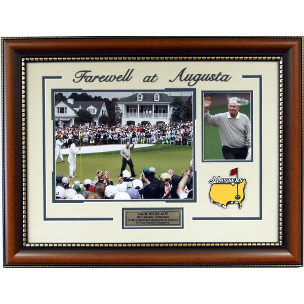 Farewell at Augusta Jack Nicklaus Framed Photos