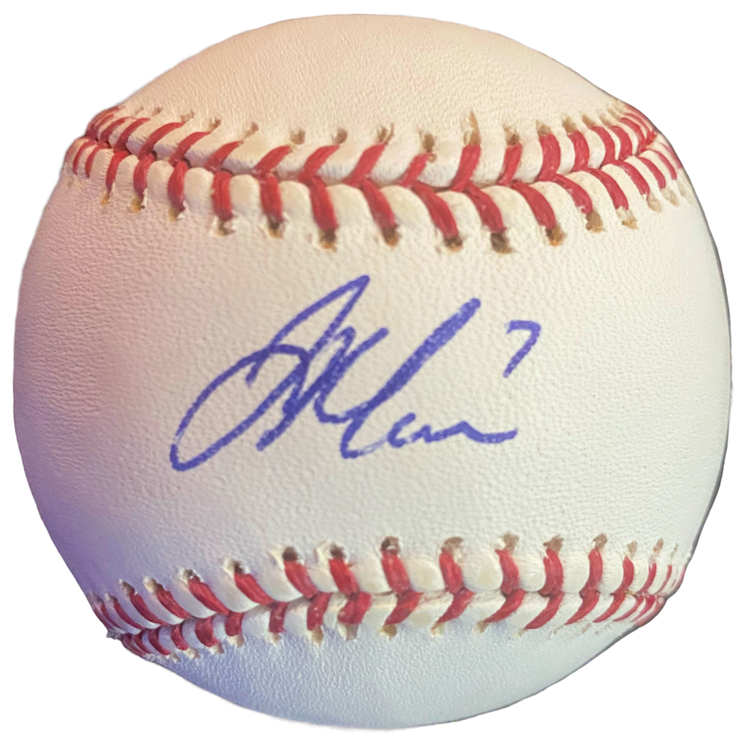 Joe Mauer Signed Baseball - Latitude Sports Marketing