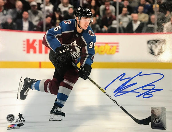 Mikko Rantanen Signed 8x10 Photo (Burgundy) - Latitude Sports Marketing