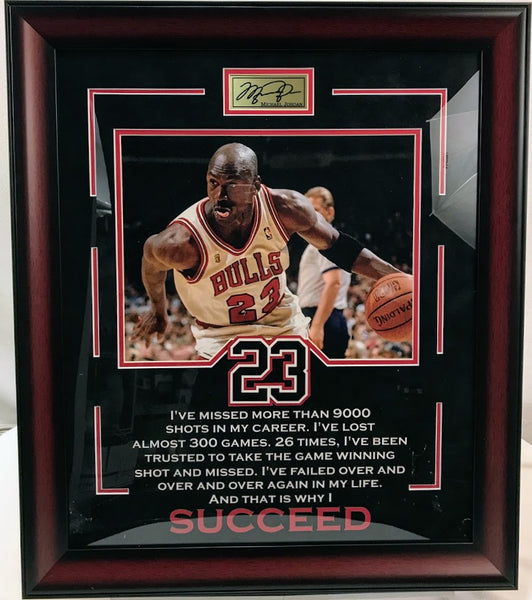 Michael Jordan 11x14 Photo Quote