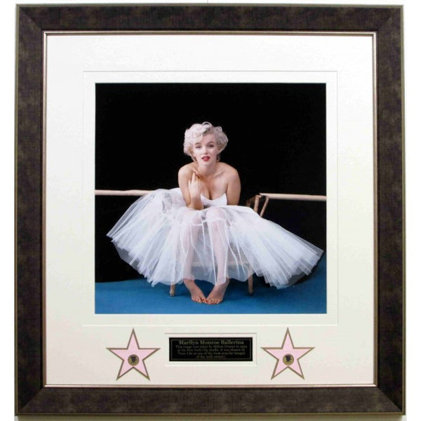 Marilyn Monroe Ballerina Collage w/ Laser Collage