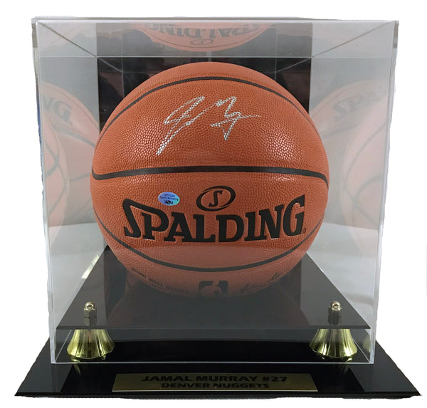 Jamal Murray Signed NBA I/O Basketball with Basketball Case