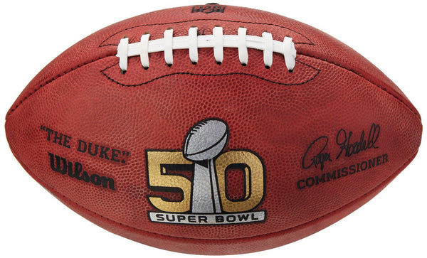Super Bowl 50 Official Game Ball