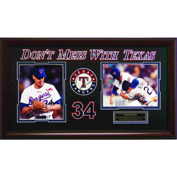 "Nolan Ryan ""Don't Mess With Texas"" Photo Collage"
