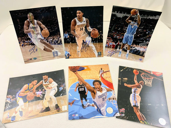 Denver Nuggets 6-Photo Fan Package