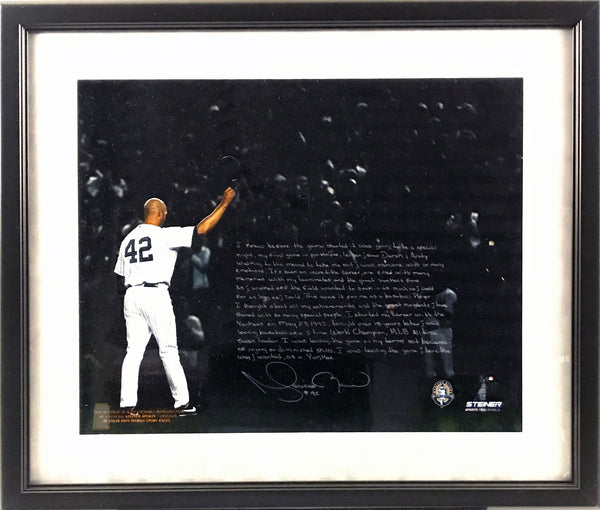 Mariano Rivera Framed Facsimile 16x20 Photo