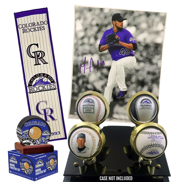 Colorado Rockies Collectables Package + *FREE* Marquez Signed Photo Included