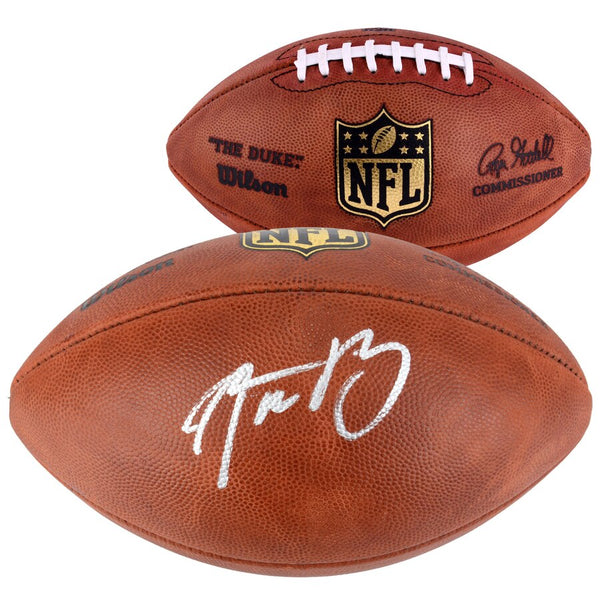 Aaron Rodgers Green Bay Packers Autographed Duke Pro Football - Latitude Sports Marketing