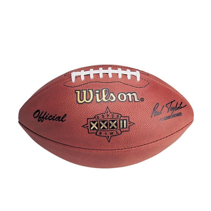 Super Bowl XXXII Authentic Game Football