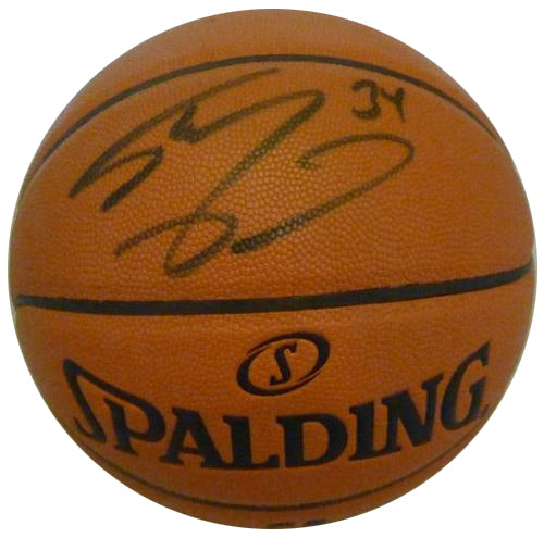 Shaquille O'Neal Autographed Basketball - Latitude Sports Marketing