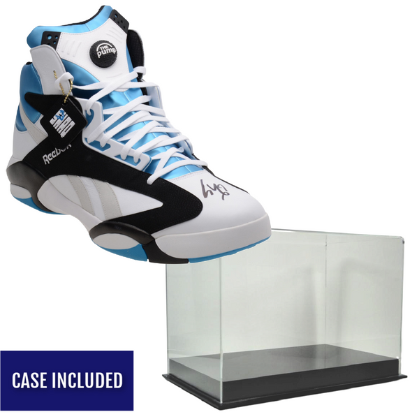 Shaquille O'Neal Autographed Reebok Size 22 Shoe w/ Display Case - Latitude Sports Marketing