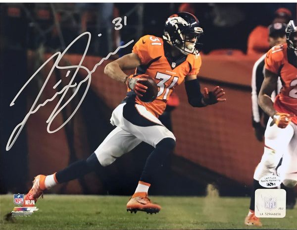 Justin Simmons Signed 8x10 Photo (Blowout)