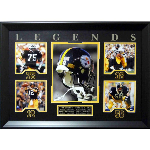 Pittsburgh Steelers Legends Collage