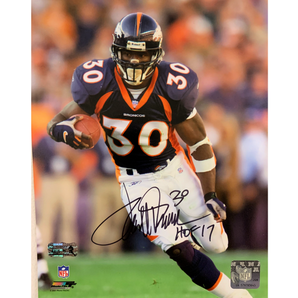 Terrell Davis Signed 8x10 Photo - Latitude Sports Marketing